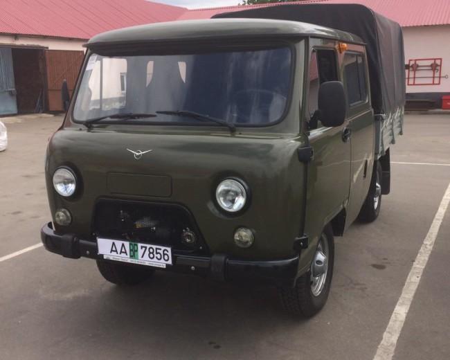 Автомобиль УАЗ 390945 2016 г.в.