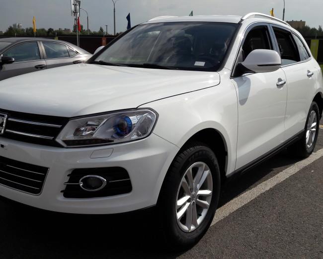 Автомобиль ZOTYE T600 2016 г.в. для ТАКСИ   (Первая машина на РБ с завода)